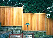 Cedar Privacy Fence Basic Board Patterns
