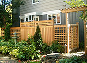 Custom Western Red Cedar Fences, Walls, & Entry Ways